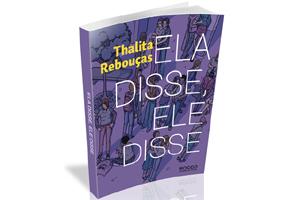 Livro - Ela disse, Ele disse - Thalita Rebouças