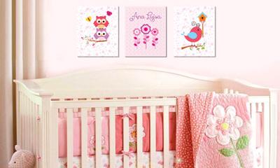 quadro decorativo quarto menina - Quadro de Incentivo para Crianças e Decoração do Quarto Infantil