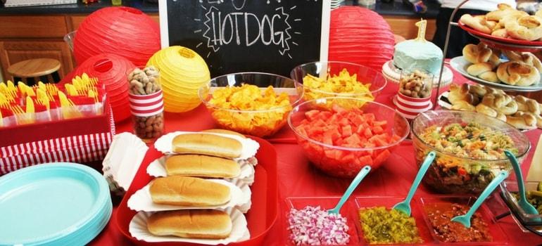 aniversário comidas temáticas