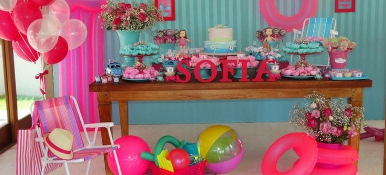aniversário pool party