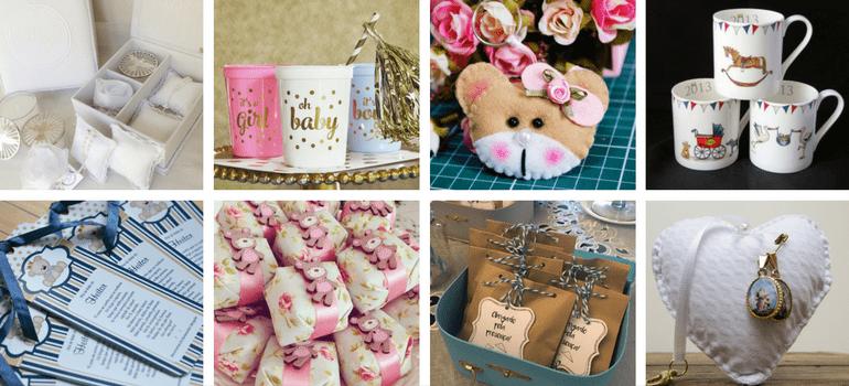 Lembrancinhas Diversas min - Lembrancinhas de Chá de Bebê: 40 ideias criativas