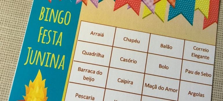 bingo junino