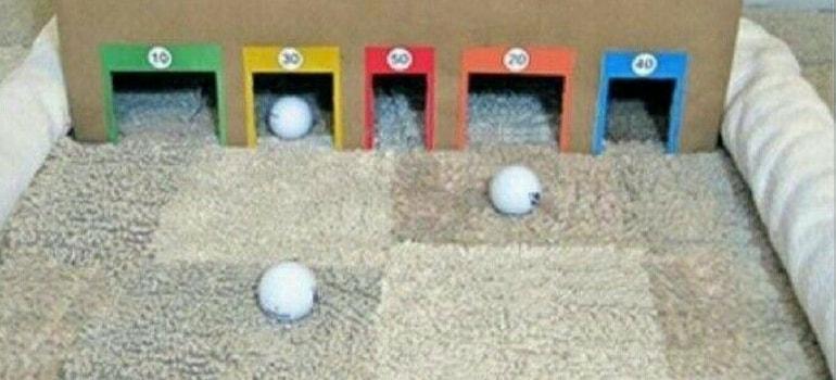 mini golfe crianças