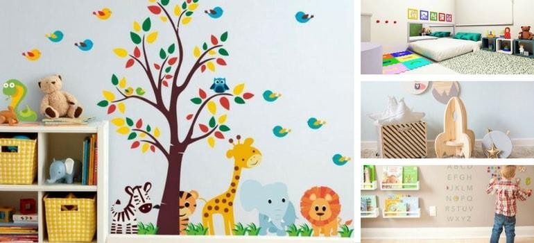 Decoração Montessoriana - Como decorar um quarto Montessoriano. Entenda o conceito