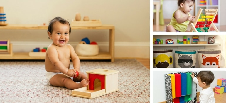 brinquedos montessori