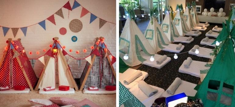 decoração festa do pijama - Decoração para Festa do Pijama: inspire-se com as ideias