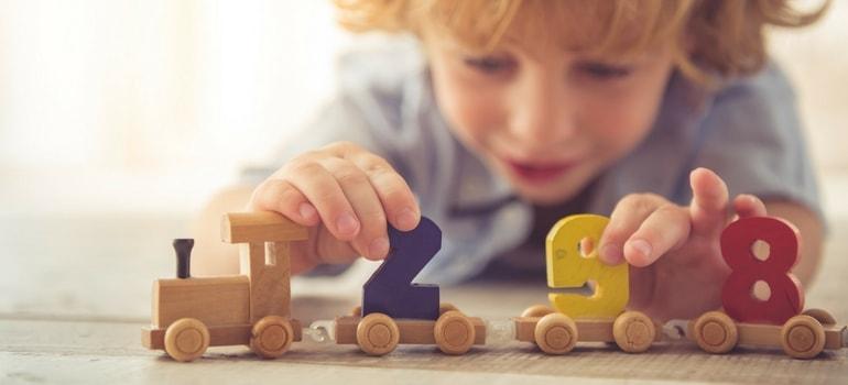 brinquedos educativos números