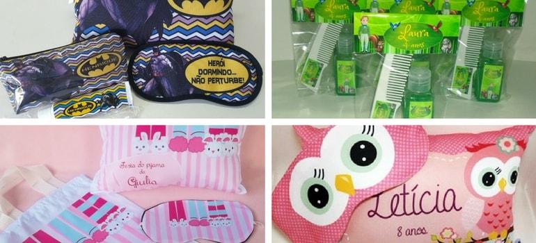 convites kit festa do pijama