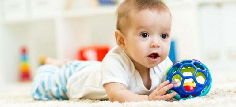 bolas para bebês