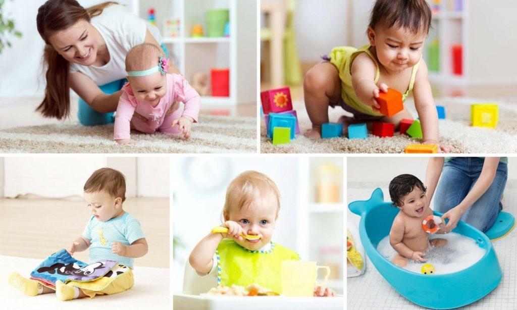 brincadeiras com bebês de 6 a 12 meses 1024x614 - Brincadeiras para bebês de 0 a 12 meses