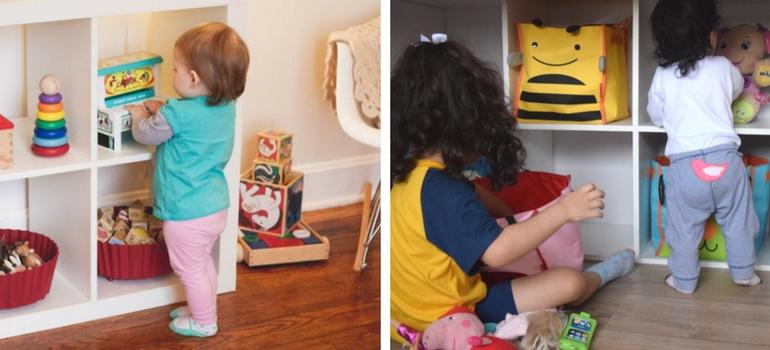 estante montessoriana - Estante Montessori para o quarto da criança - Veja como fazer
