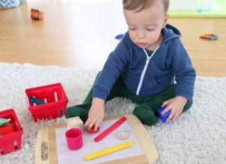 Brincar e aprender com velcro