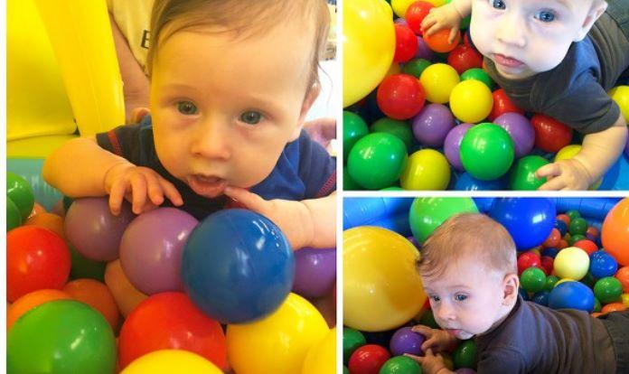 Mes5-atividades sensorias bebe 5 meses5