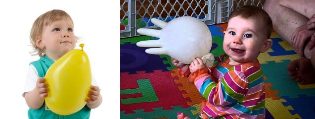 brincadeiras-carro-baloes-luvas latex