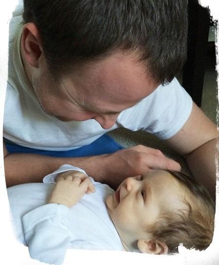 conversar com o bebe