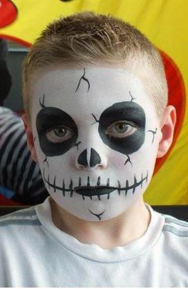 Ideias de maquiagens de Halloween para crianças1 - Ideias de maquiagens aterradoras para o halloween