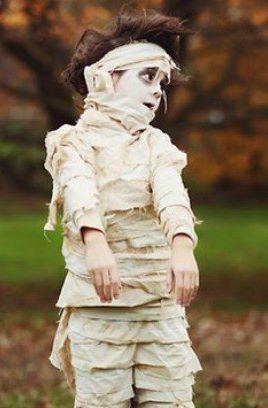 Ideias de maquiagens de Halloween para crianças11 - Ideias de maquiagens aterradoras para o halloween
