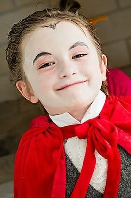 Ideias de maquiagens de Halloween para crianças12 - Ideias de maquiagens aterradoras para o halloween