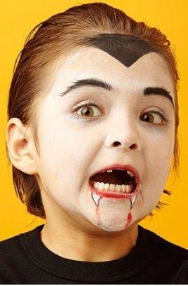 Ideias de maquiagens de Halloween para crianças13 - Ideias de maquiagens aterradoras para o halloween