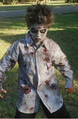 Ideias de maquiagens de Halloween para crianças14 - Ideias de maquiagens aterradoras para o halloween