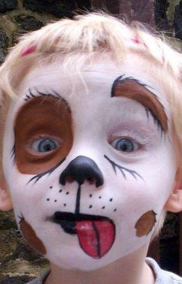 Ideias de maquiagens de Halloween para crianças16 - Ideias de maquiagens aterradoras para o halloween
