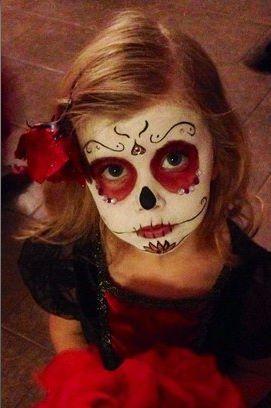 Ideias de maquiagens de Halloween para crianças2 - Ideias de maquiagens aterradoras para o halloween