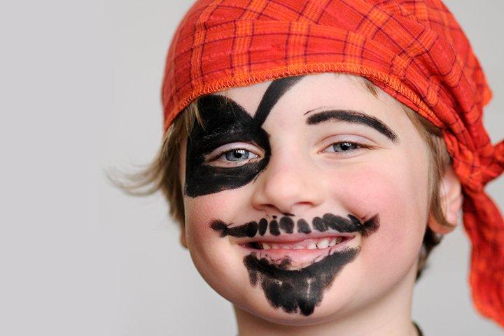 Ideias de maquiagens de Halloween para crianças21 - 10 de Pinturas faciais passo a passo para as crianças no Halloween