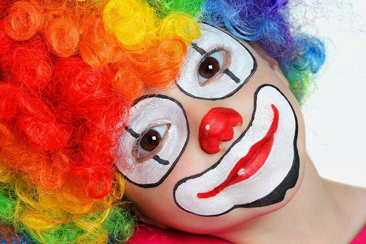 Ideias de maquiagens de Halloween para crianças26 - 10 de Pinturas faciais passo a passo para as crianças no Halloween