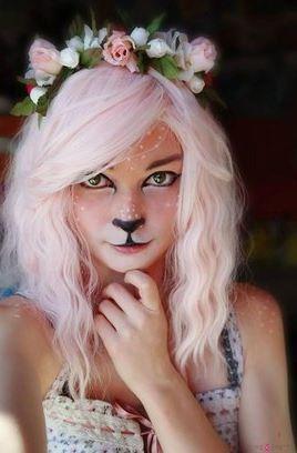 Ideias de maquiagens de Halloween para crianças4 - Ideias de maquiagens aterradoras para o halloween