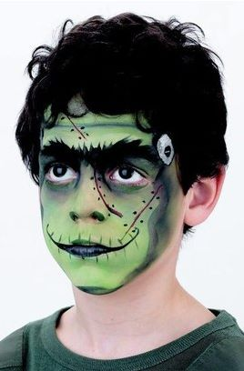 Ideias de maquiagens de Halloween para crianças8 - Ideias de maquiagens aterradoras para o halloween