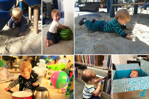Mes 10 Atividades sensoriais 4 - Mês 10 – 10 Atividades Sensoriais para o seu bebê