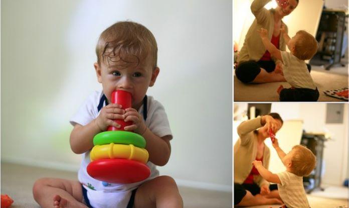 Mes 7 atividades sensoriais5 - Mês 8 – 10 Atividades Sensoriais para o seu bebê