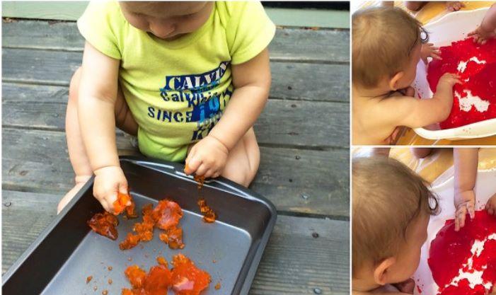 Mes 9 atividades sensoriais2 - Mês 9 – 10 Atividades Sensoriais para o seu bebê