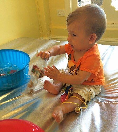 Mes 9 atividades sensoriais3 - Mês 9 – 10 Atividades Sensoriais para o seu bebê