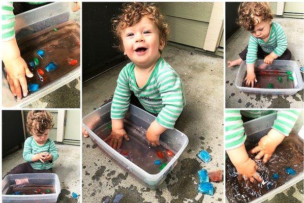 Mes11 Atividades sensoriais 11 meses 2 - Mês 11 -  10 Atividades sensoriais para o seu bebê
