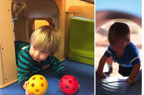 Mes11 Atividades sensoriais 11 meses 3 - Mês 11 -  10 Atividades sensoriais para o seu bebê