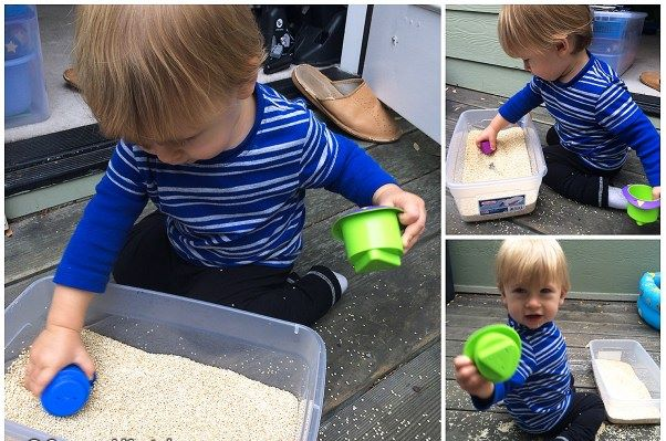 Mes11 Atividades sensoriais 11 meses 4 - Mês 11 -  10 Atividades sensoriais para o seu bebê