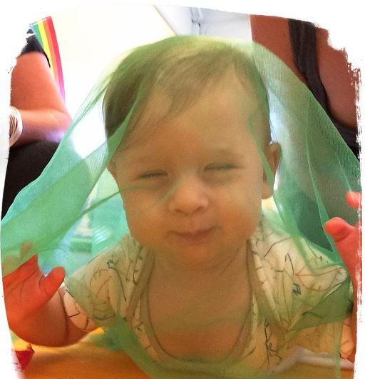Mes6 atividades sensoriais bebe 1 - Mês 6 – 10 Atividades Sensoriais para o seu bebê
