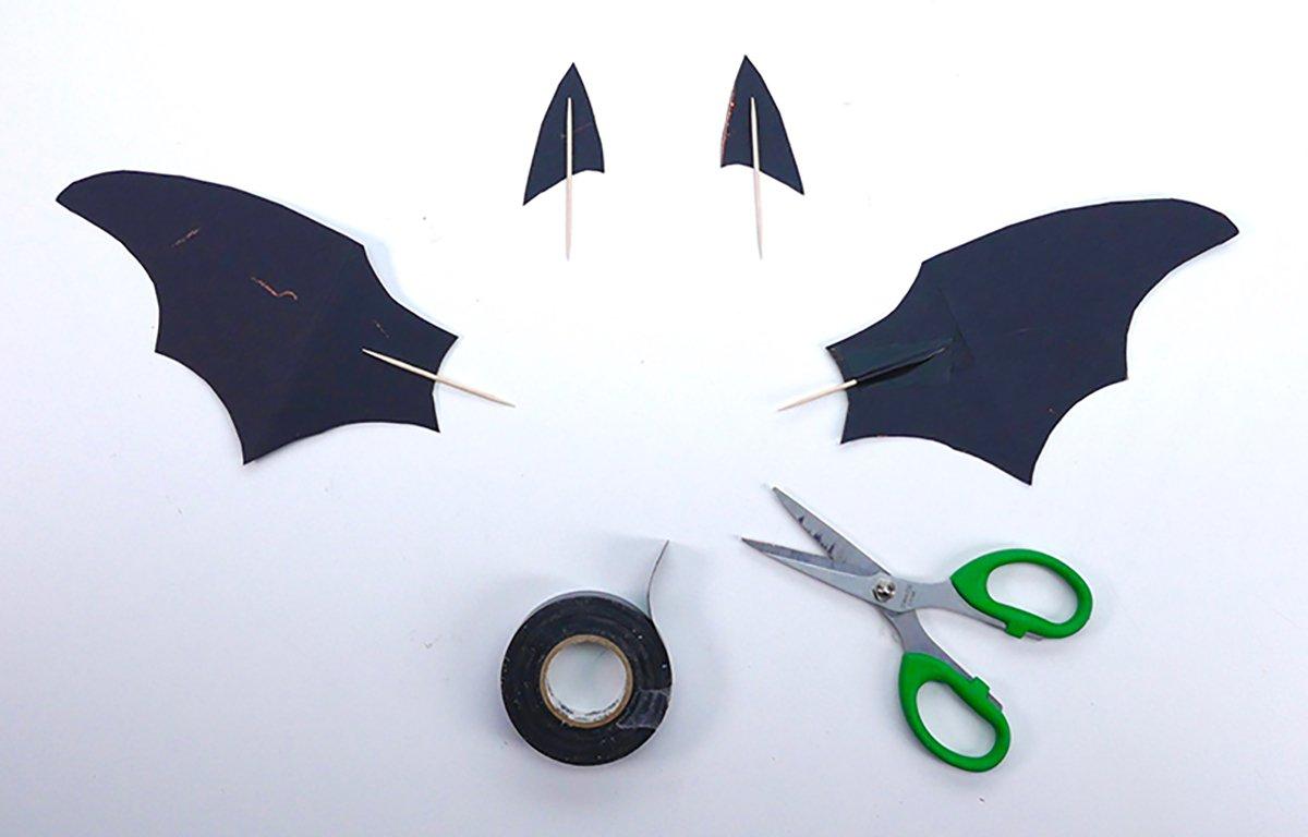 halloween morcegos3 - Morcegos para o Halloween
