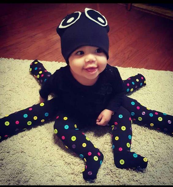 ideias fantasias hallowee20 - 25 Ideias de disfarces de Halloween para bebes e crianças