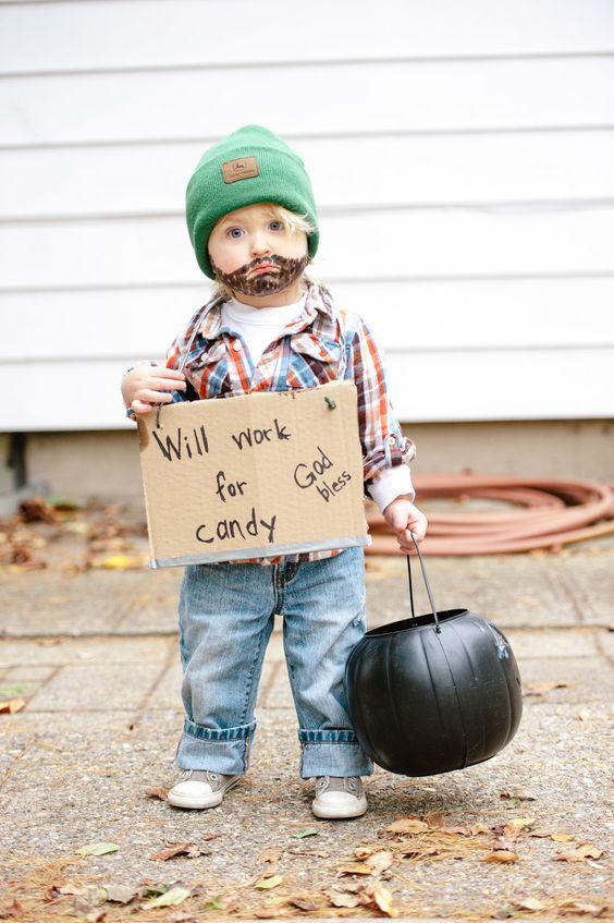 ideias fantasias halloween17 - 25 Ideias de disfarces de Halloween para bebes e crianças
