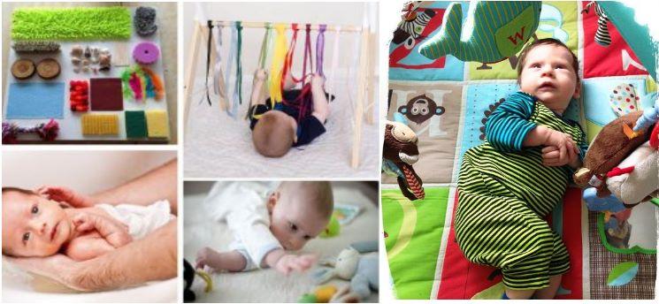 mes 2 - Atividades sensorias para desenvolvimento 0 aos 12 meses