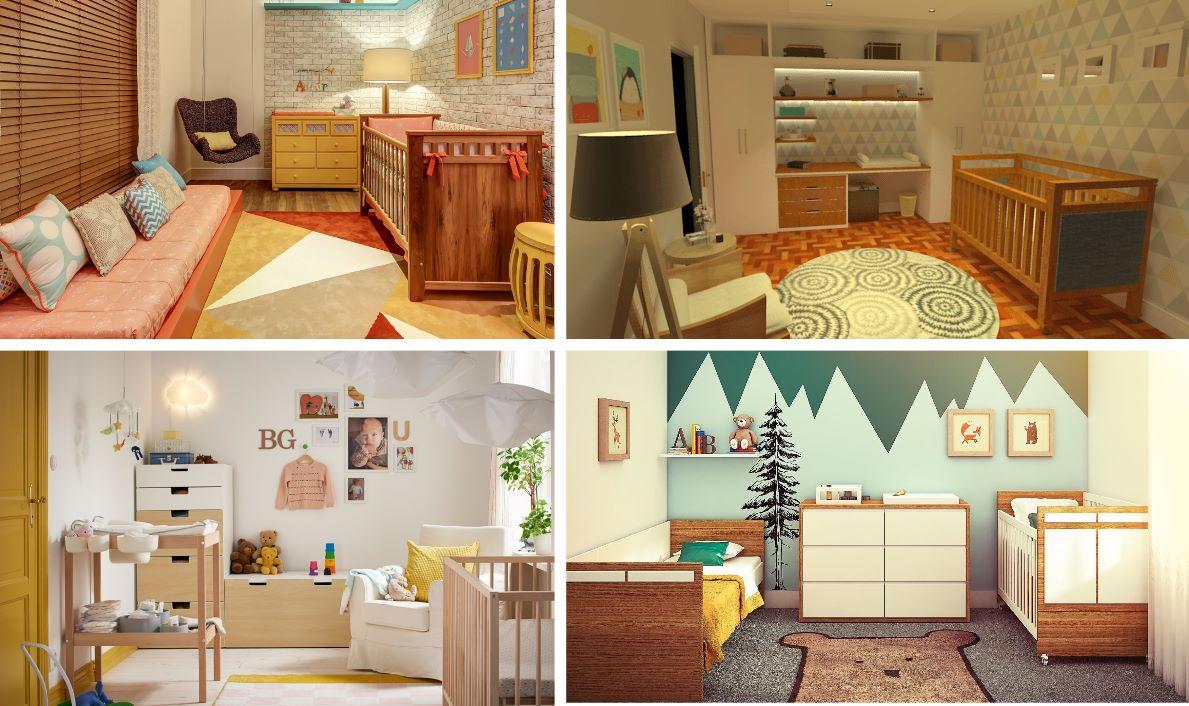 quarto bebe decoracao-madeira-natural