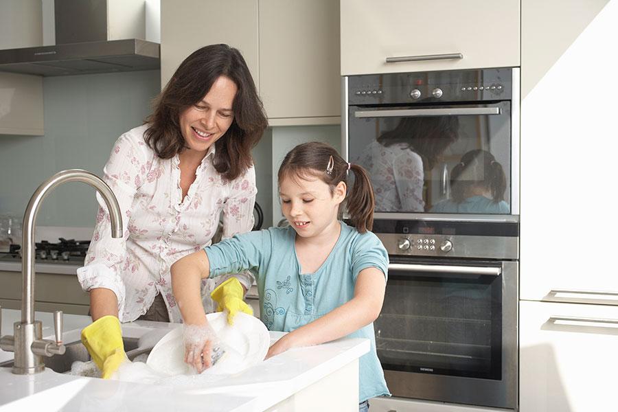 Divisão de Tarefas Domésticas com as Crianças2 - Divisão de Tarefas Domésticas com as Crianças