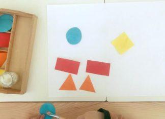 aprender as formas geometricas a brincar