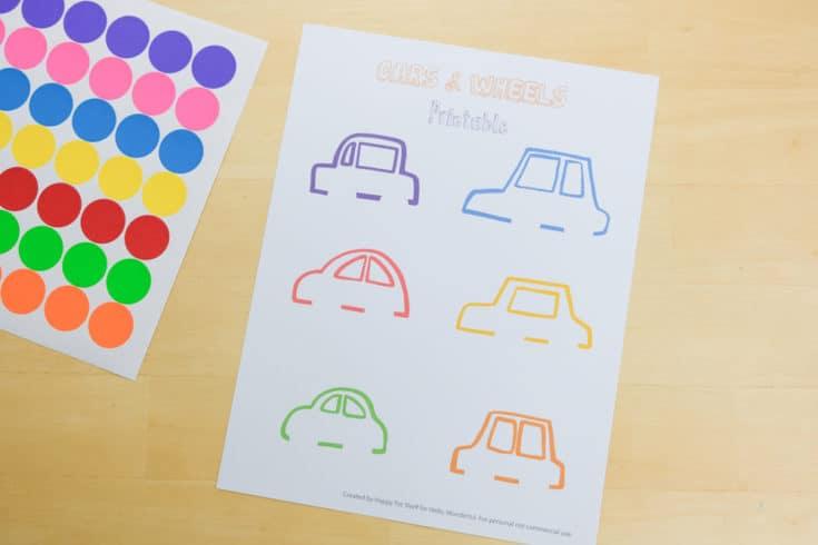Carros para aprender as cores letras e números1 - Aprender as cores, letras e números