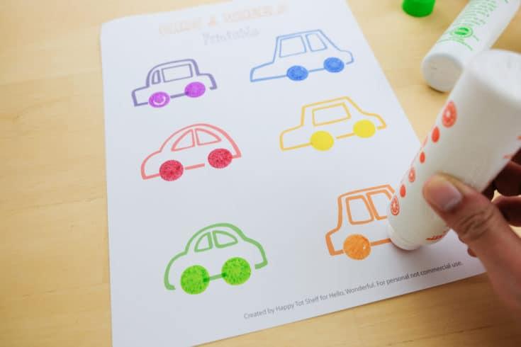 Carros para aprender as cores letras e números10 - Aprender as cores, letras e números