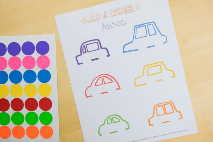 Carros para aprender as cores letras e números2 - Aprender as cores, letras e números