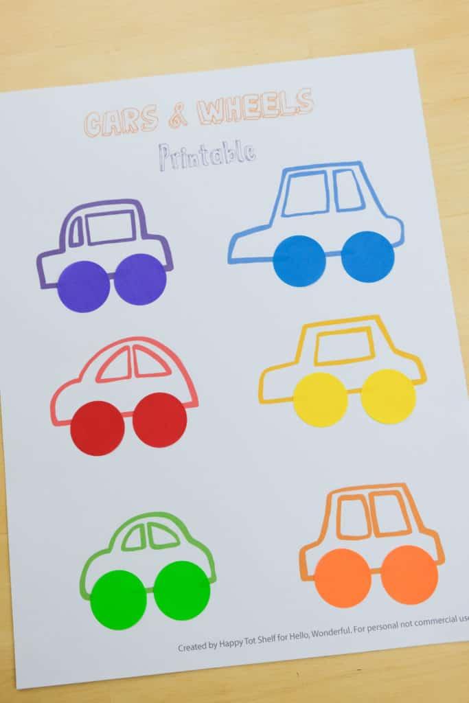 Carros para aprender as cores letras e números5 - Aprender as cores, letras e números