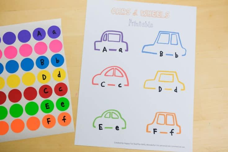 Carros para aprender as cores letras e números6 - Aprender as cores, letras e números